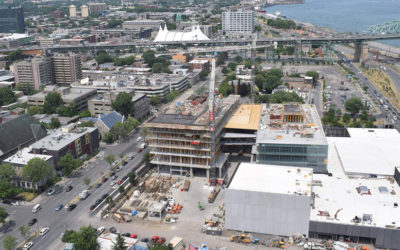 Nouvelle Maison Radio-Canada | The construction site live
