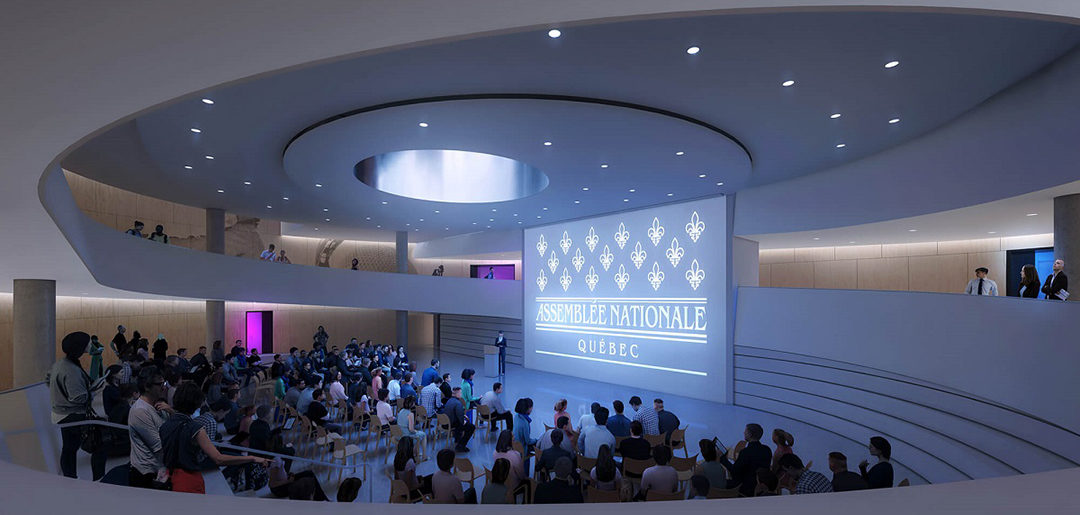 Assemblée nationale – Inauguration of the new reception pavilion